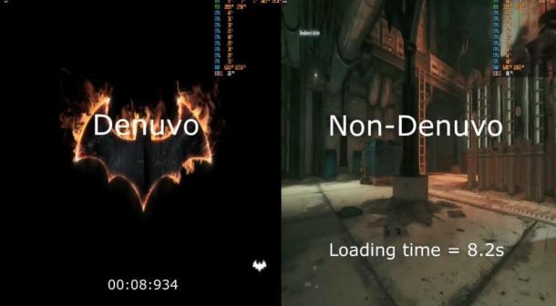 D加密让游戏加更慢 Epic《蝙蝠侠:阿卡姆骑士》对比测试