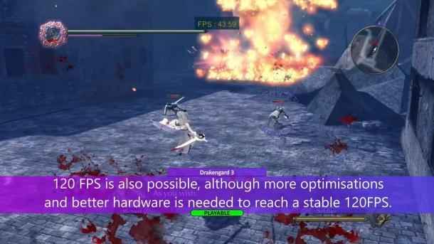 PS3模拟器运行《龙背上的骑兵3》演示 完美模拟60帧