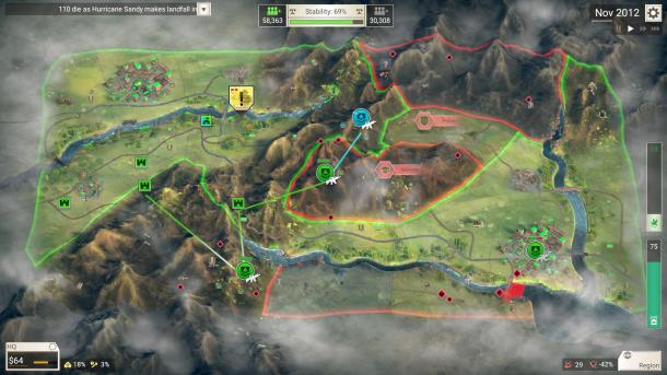 策略模拟游戏《反叛公司》Steam版10月15日发售