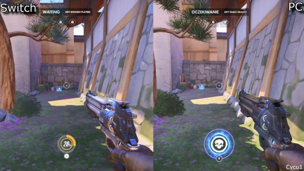 《守望先锋》Switch、PC版画面对比 差距明显可以接受