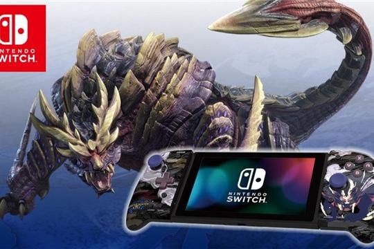 HORI《怪猎:崛起》主题Switch手柄发售
