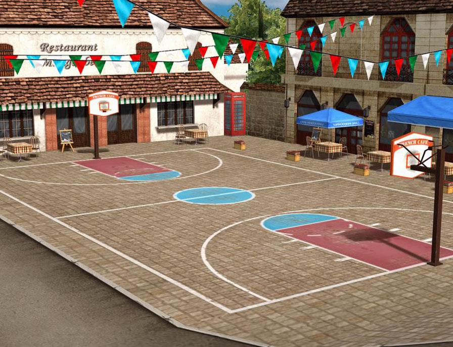 街头篮球图片