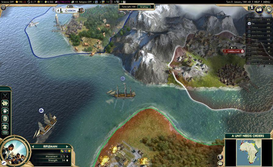 文明5图片