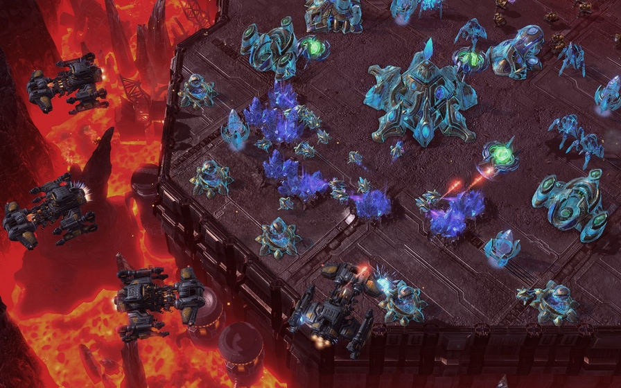 星际争霸2:虫群之心图片