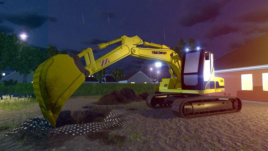 挖掘机模拟图片