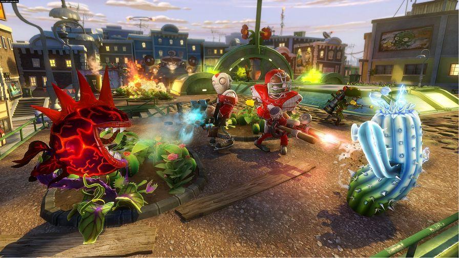 植物大战僵尸:花园战争图片