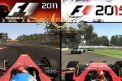 画质突飞猛进 《F1 2011》《F1 2015》对比视频