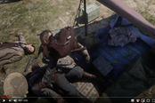 《荒野大鏢客2》搞笑瞬間視頻 天外飛馬現身