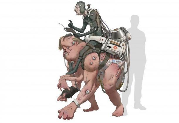 《狂怒2》人物原画 Walker养母是个厉害的游骑兵