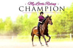 我的小小骑马冠军图片