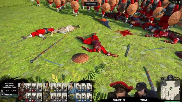 《全面战争:三国》最新长演示 展示血腥DLC细节