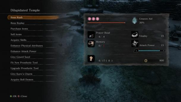 《只狼》Boss Rush Mod:可让你跳过剧情无限挑战Boss