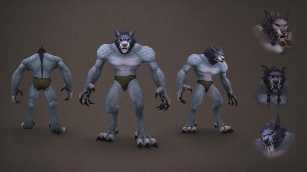 帅了! 《魔兽世界》将更新地精、狼人的外观及动画