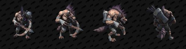 《魔兽争霸3:重制版》德莱尼和豺狼人模型 更高清了