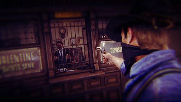 《荒野大鏢客2》搶銀行Mod  變成真正的西部大盜