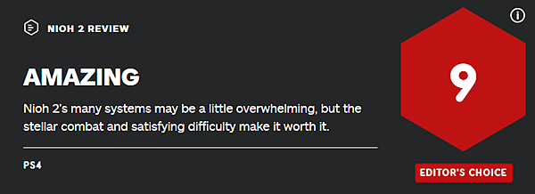 《仁王2》媒體評分解禁 一起來看看成績如何