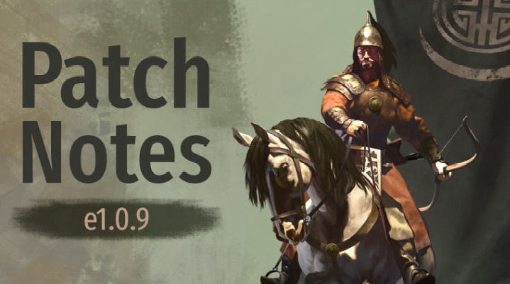 《騎馬與砍殺2》1.0.9更新日志 修復刷錢Bug調整小細節