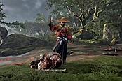《对马岛之鬼》PS4版设有专门按键 可做出帅气血振动作