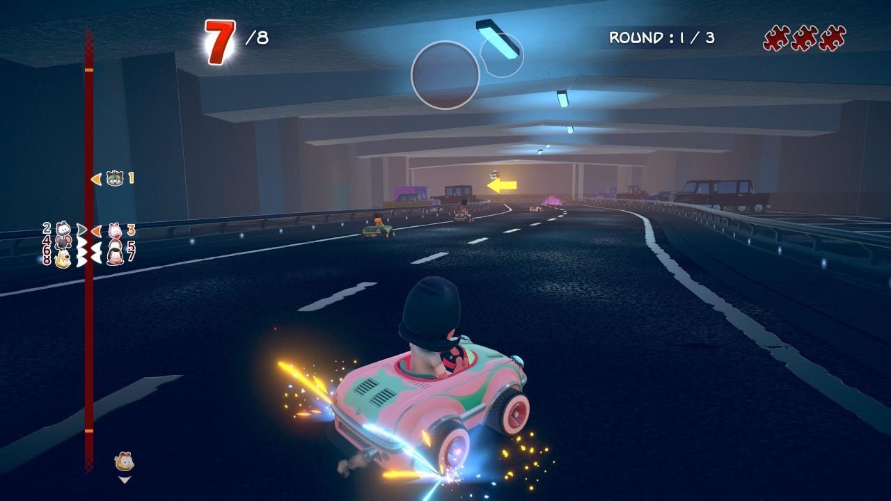 加菲貓卡丁車:激情競速圖片