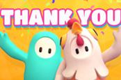 《糖豆人:终极淘汰赛》发布感谢信 特殊