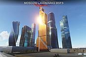 《微软飞行模拟》新附加插件 提升莫斯科的画…