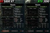 紅綠旗艦 6800XT與RTX 3090游戲4K測試對比