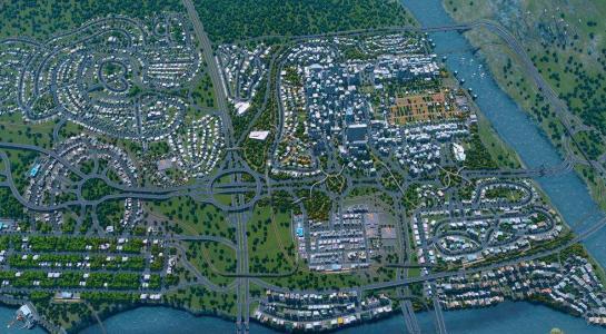 城市天际线人口_城市天际线高效提升人口的方法