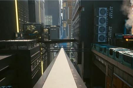 《赛博朋克2077》可能有列车功能 但是没有开发完