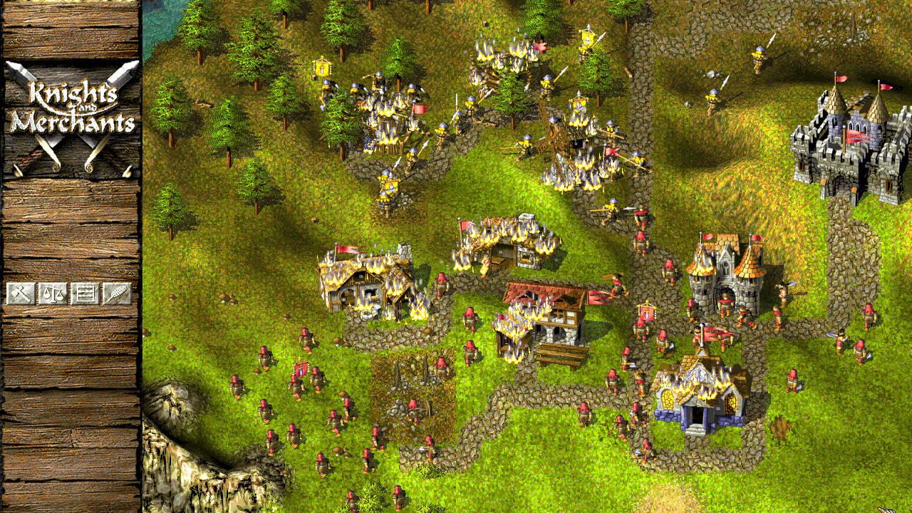 骑士与商人:农民起义图片