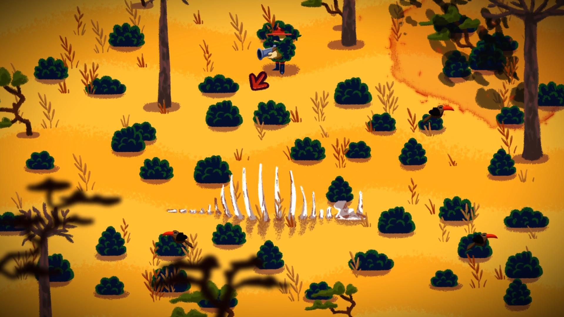 灌木丛中文版图片