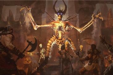 《暗黑破坏神2》重制版海量截图及角色概念图…