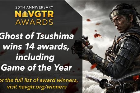 《对马岛之鬼》获NAVGTR最佳游戏等14项奖项