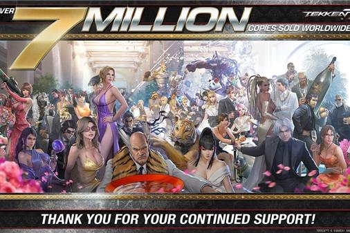 《鐵拳7》總銷量突破700萬 追加第四賽季新角色