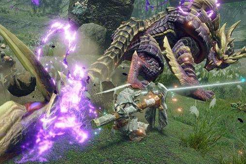 日台韩游戏周榜:《怪物猎人:崛起》四连冠