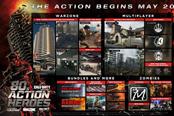 《使命召唤:战区》更新正式上线 八零年代的动作英雄
