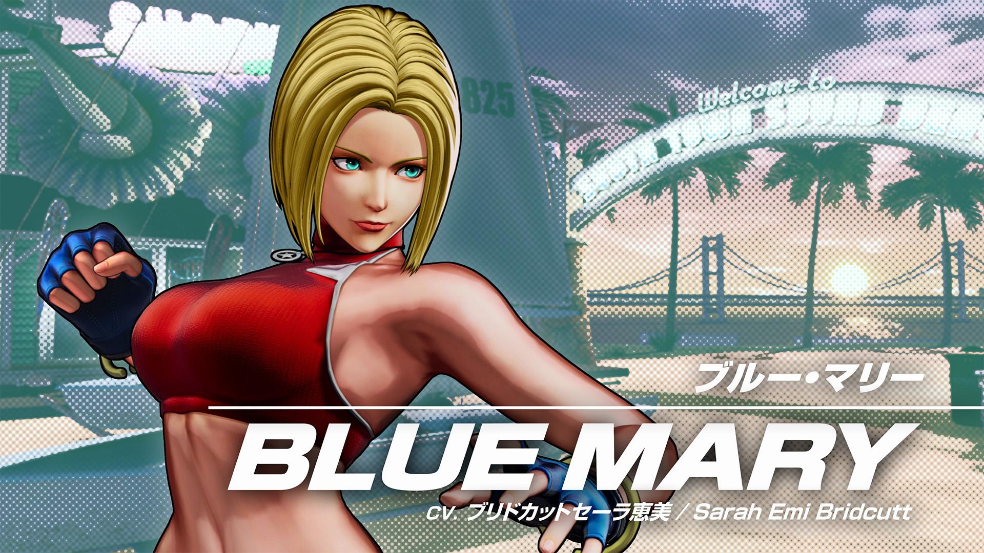 拳皇15公布角色影像运动系美女布鲁玛丽闪亮登场