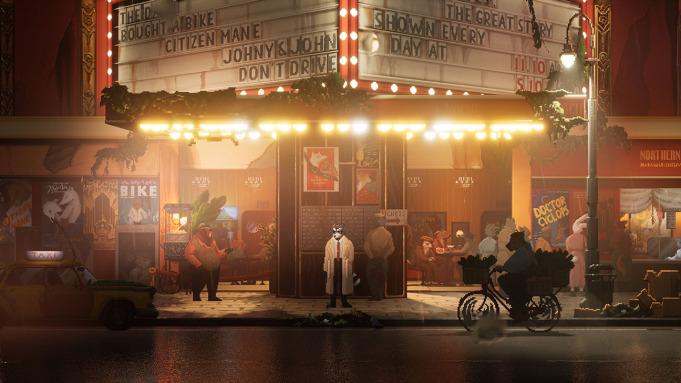 《浣熊硬探》公布一段超长实机演示 一款侦探游戏新作 游戏资讯 第1张