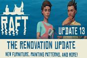 Raft木筏求生6月22日更新内容 Update13更新了什么
