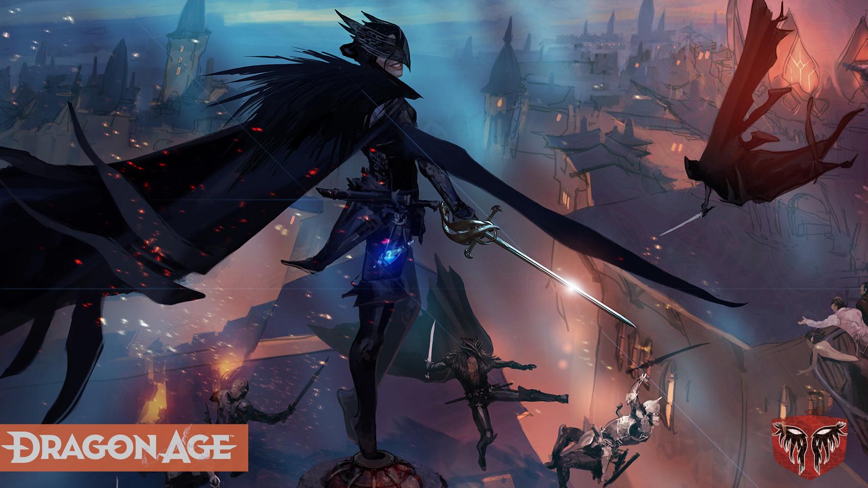 《龙腾世纪 4》公布新概念图 展示全新设计的刺客组织 游戏资讯 第1张