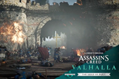 《刺客信条:英灵殿》第二个扩展包 围攻巴黎预告公布