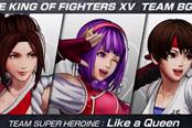 《拳皇15》超级女主角队背景乐宣传片 公开新战斗舞台
