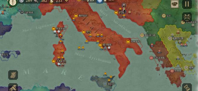 大征服者罗马新手教学 大征服者罗马昔兰尼无将速推流攻略