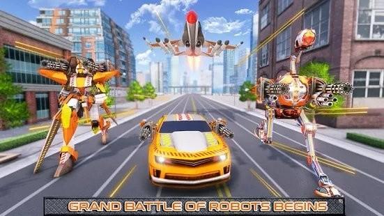 鸵鸟机器人汽车变形战争截图