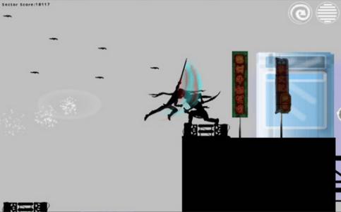 矢量忍者跑酷3游戏截图