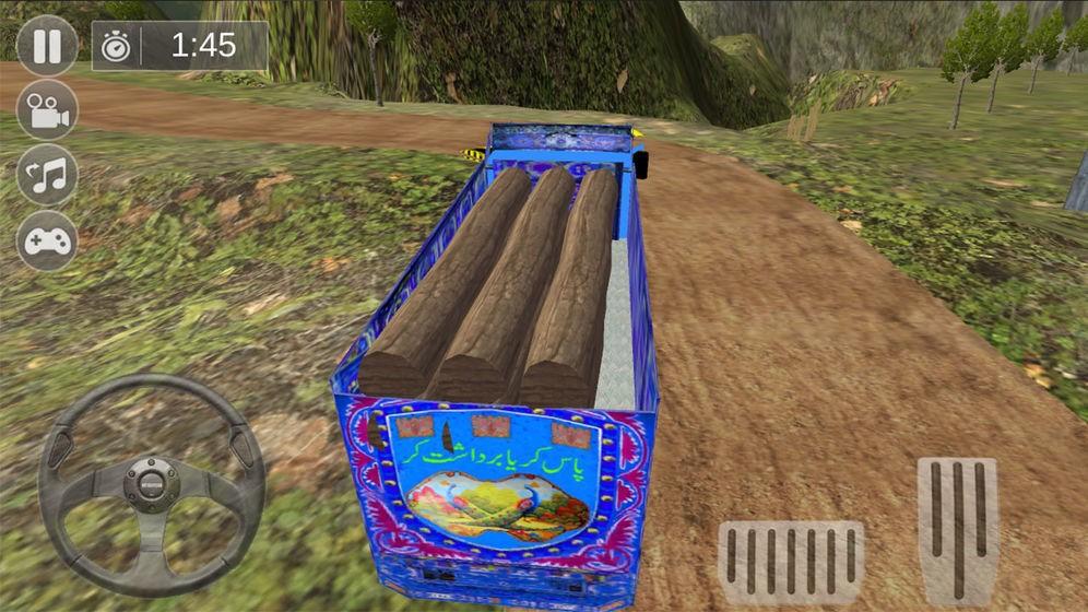 卡车野外运输模拟截图