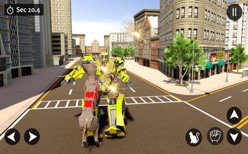猫变形机器人战争截图