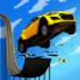 巨型坡道汽车跳跃特技3D